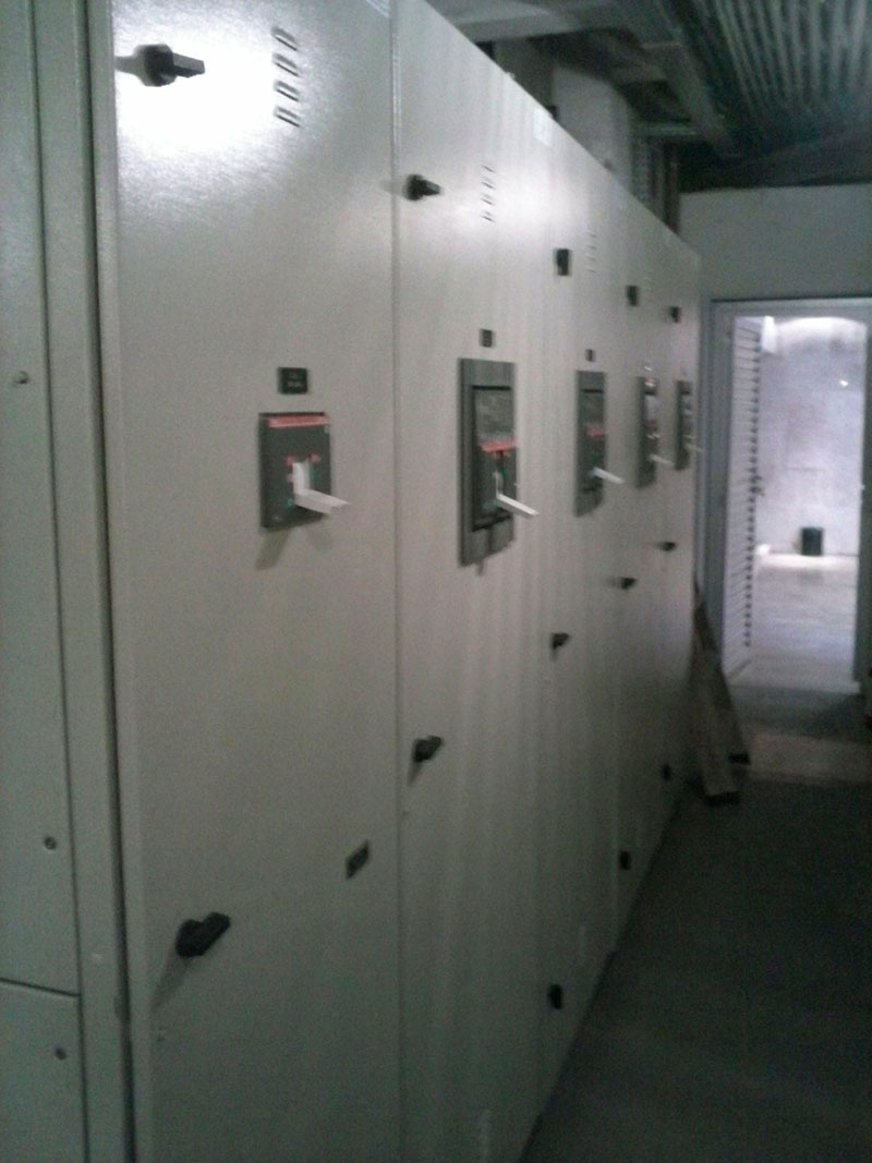 Cabine de Barramento - Paulista